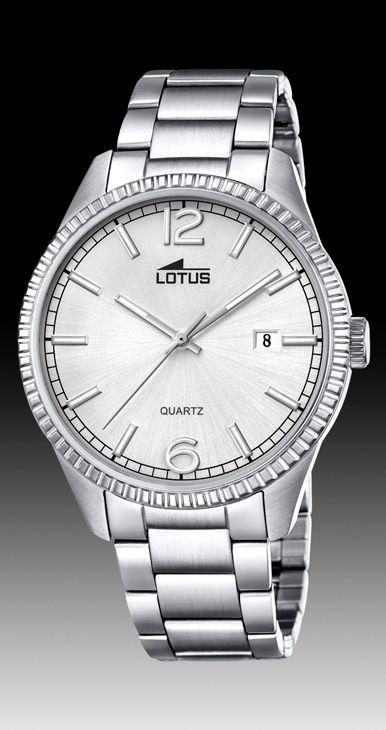 Reloj Lotus caballero acero 18299/3