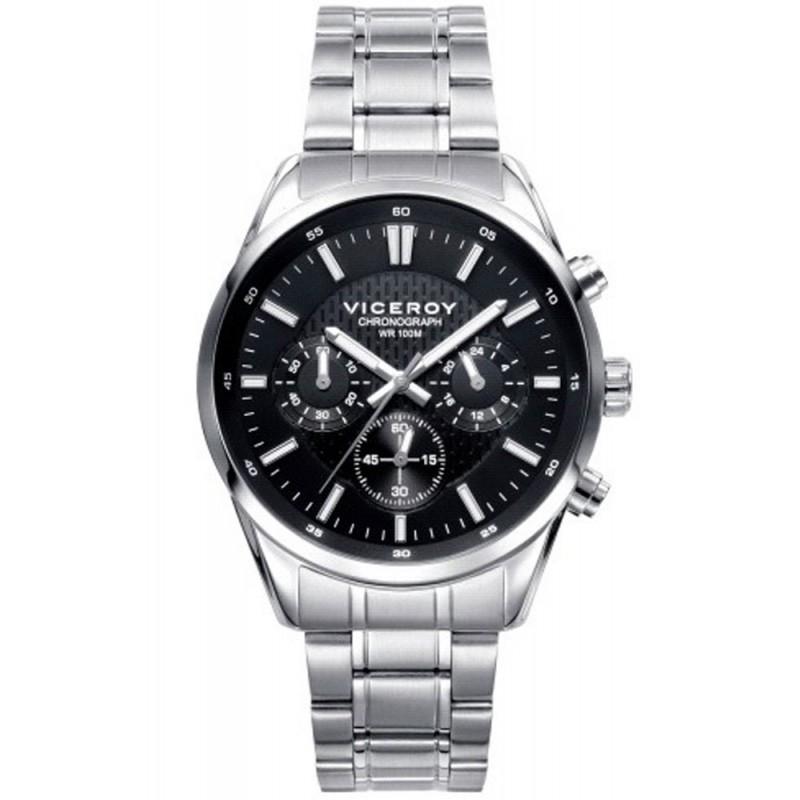 50f04020ebd9 Reloj Viceroy acero Crono 401017-57 - Joyeria Vila
