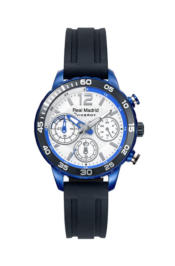 11b2db4c9eea Reloj Viceroy Real Madrid Cronógrafo Cadete Caucho 40962-05 ...