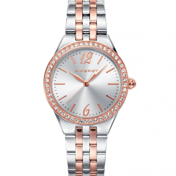 1e4958aa4864 Reloj Viceroy Mujer Bicolor 42232-95 - Joyería Vila