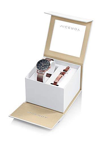4b385f7d6ec6 Pack Reloj Viceroy Antonio Banderas Mujer con Pulsera de Acero y Piel