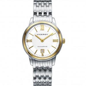 Reloj Viceroy Luxury señora acero y oro
