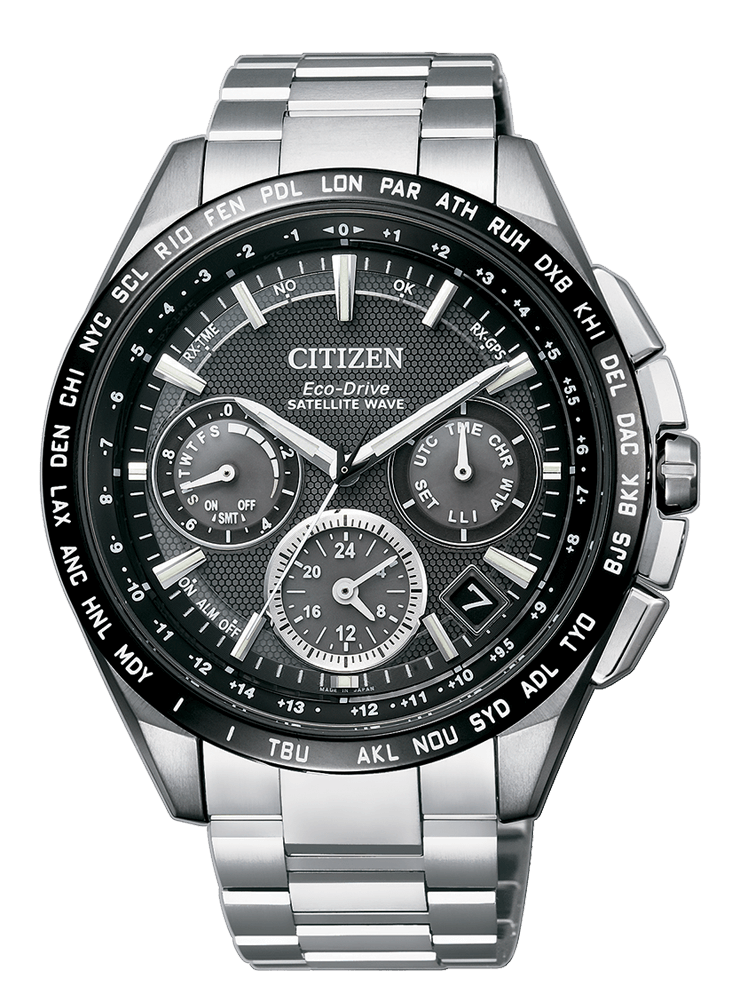 Reloj Citizen Eco Drive Satellite Wave GPS Titanium