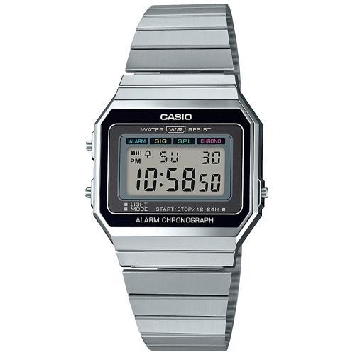 Reloj Casio Vintage Unisex Plateado A700WE-1AEF