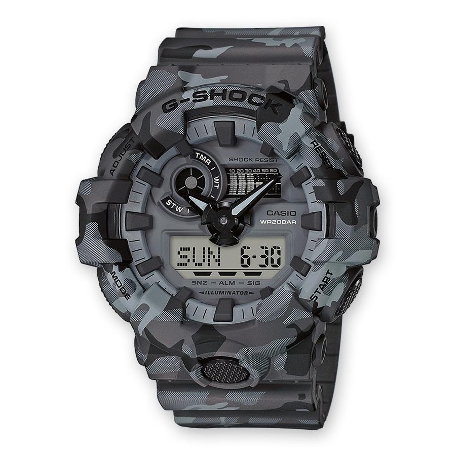 Reloj Camo Casio 700cm Ga Hombre G Shock 8aer 7f6gyYb