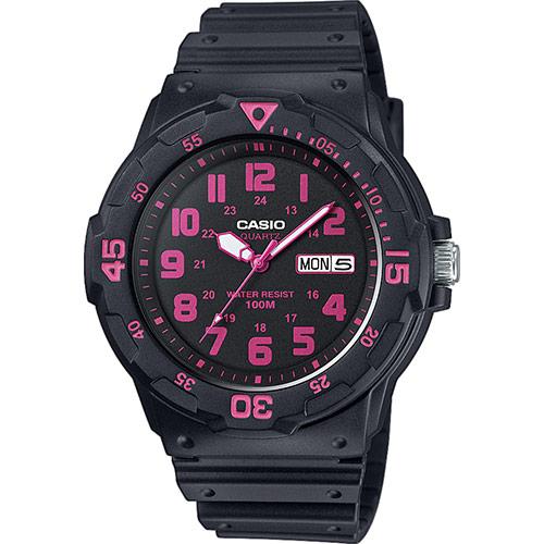 Reloj Casio Collection negro/fucsia