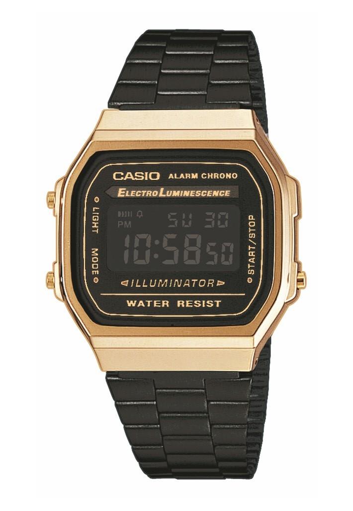 ec462bf5c799 Reloj Casio Collection unisex negro dorado-Joyeria Vila