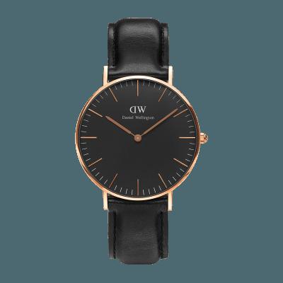 Reloj Daniel Wellington Classic Black Sheffield 36mm.