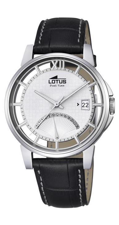 Reloj Lotus Minimalist Hombre Esfera Blanca 18325/1
