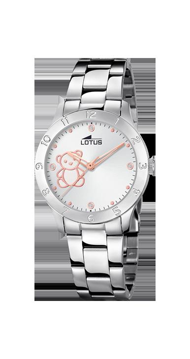 Reloj Lotus Niña Osito Armis Acero