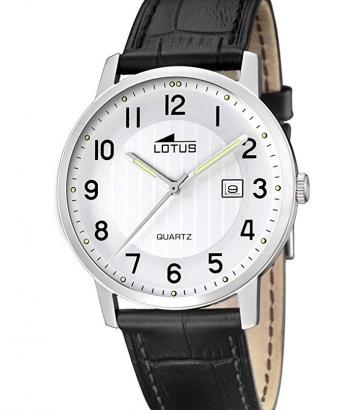 Reloj Lotus Acero y Piel 15620/1