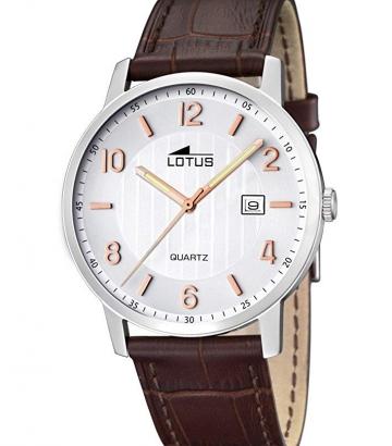Reloj Lotus Acero y Piel 15620/3