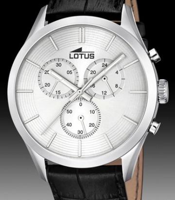 Reloj Lotus Minimalist Cronógrafo Caballero 18119/1