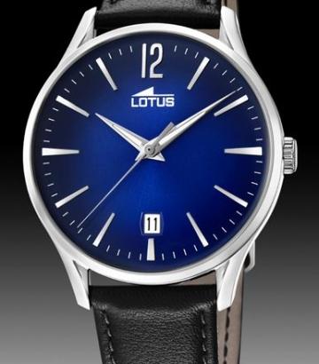 Reloj Lotus Revival Man esfera azul