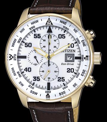 Reloj Citizen Crono Aviator CA0693-12A