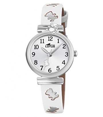 Reloj Lotus Niña Osito Blanco 18628/1