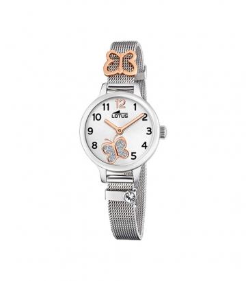Reloj Lotus Malla Milanesa Mariposa 18659/2