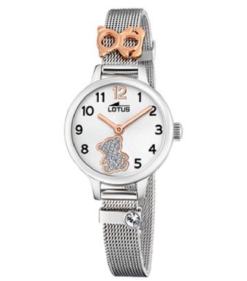 Reloj Lotus Malla Milanesa Osito 18659/4