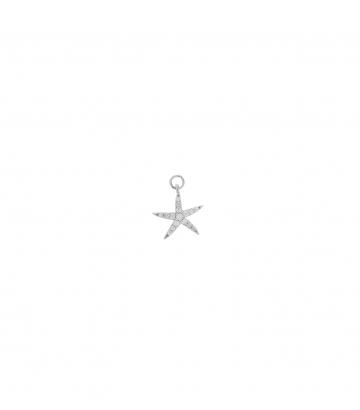 Charm Plata Rodio Circonitas Estrella Mar Miscellany Collection