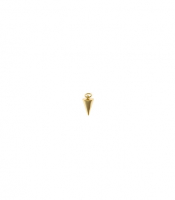 Charm plata chapado oro cono  Miscellany Collection
