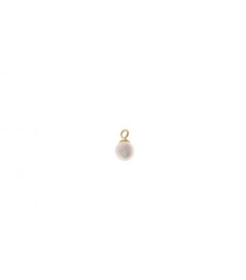 Charm plata chapado oro perla de agua dulce  Miscellany Collection