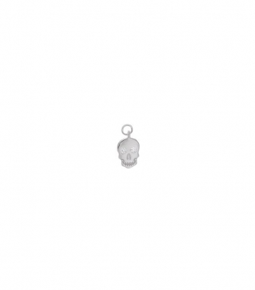 Charm plata rodio calavera circonitas Miscellany Collection