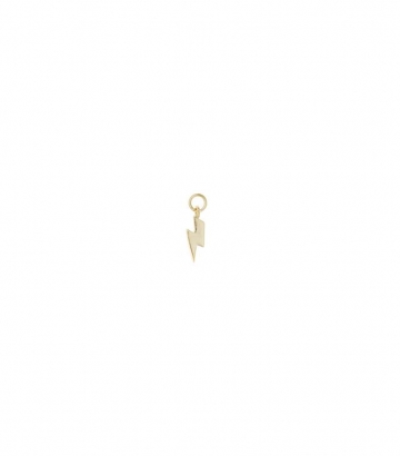 Charm plata dorada rayo Miscellany Collection