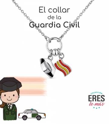 Gargantilla Promojoya Plata Guardia Civil