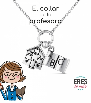 Gargantilla Promojoya Plata Profesora