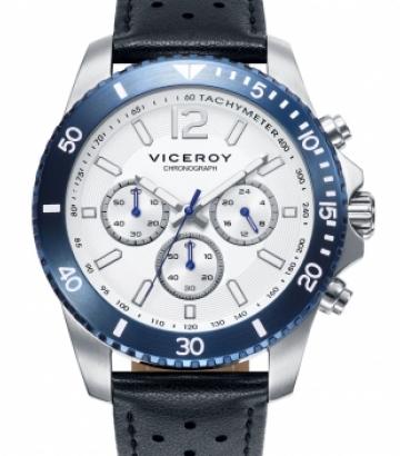 Reloj Viceroy Heat Crono Bic Azul 401003-57