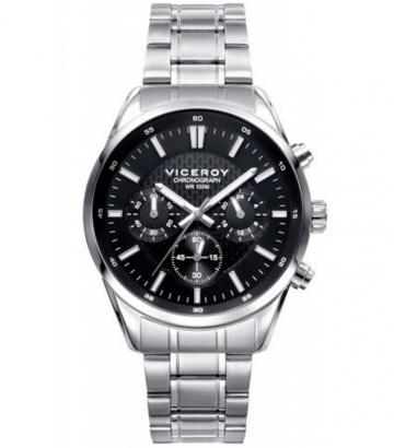 Reloj Viceroy acero Crono 401017-57