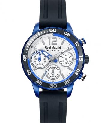 Reloj Viceroy Real Madrid Cronógrafo Cadete Caucho 40962-05