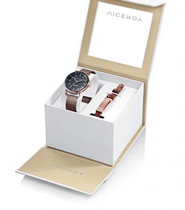 Pack Reloj Viceroy Antonio Banderas Mujer con Pulsera de Acero y Piel