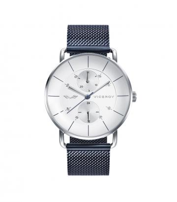 Reloj Viceroy Antonio Banderas Armis Azul Esfera Blanca