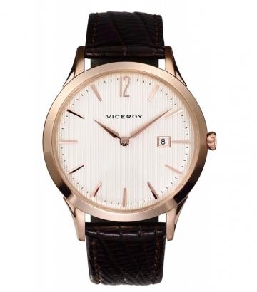 Reloj Viceroy caballero correa marrón
