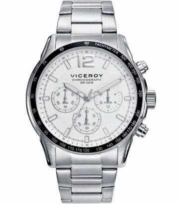 Reloj Viceroy Sportif Cronógrafo acero