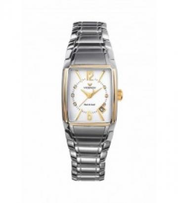Reloj Viceroy acero y oro con brillantes