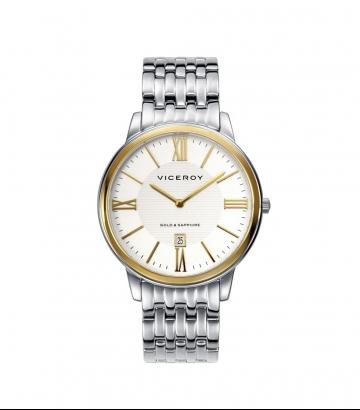 Reloj Viceroy Luxury  acero y oro
