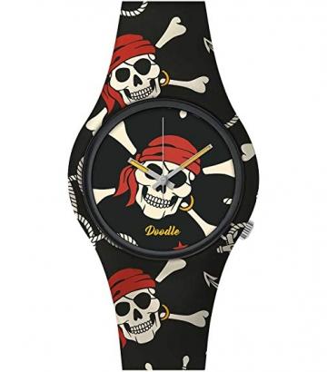 Reloj Doodle Pirate Skull