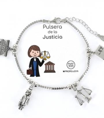 Pulsera Plata Eres lo Más Justicia