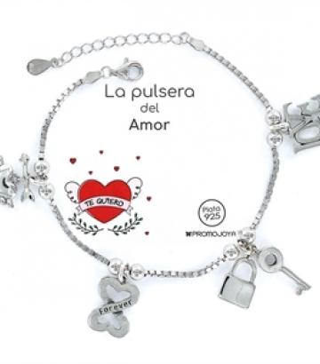 Pulsera plata Eres lo Más Amor Corazón