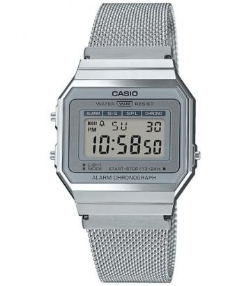 Reloj Casio Vintage Unisex Plateado A700WEM-7AEF