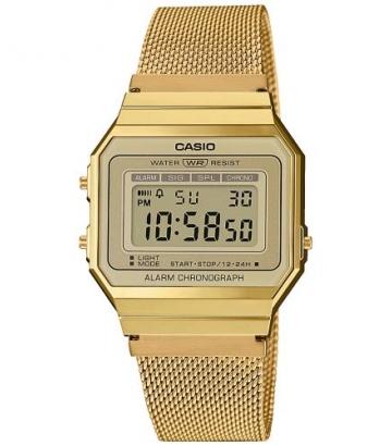 Reloj Casio Unisex Dorado A700WEMG-9AEF