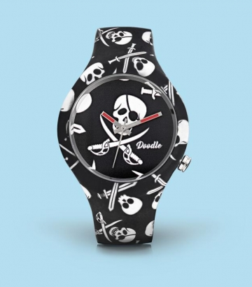 Reloj Doodle Black Pirates