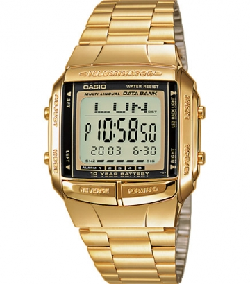 Reloj Casio Collection dorado