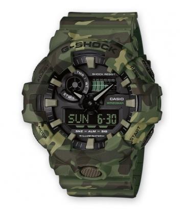 Reloj Casio G-Shock Camo Hombre GA-700CM-3AER