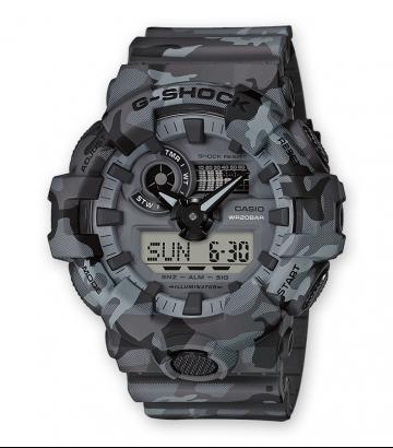 Reloj Casio G-Shock Camo Hombre GA-700CM-8AER