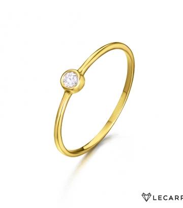 Sortija Le Carré Oro  Diamante