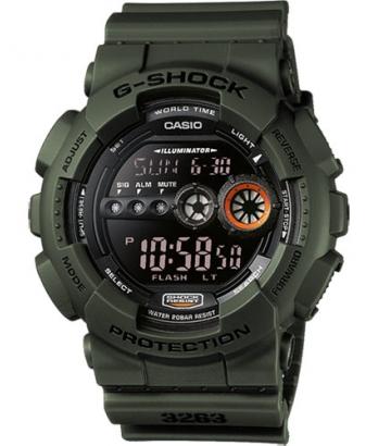 Reloj Casio G-Shock Verde GD-100MS-3ER