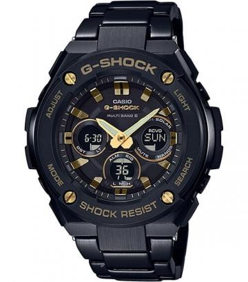 Reloj Casio G-Shock Steel Mid-Size Wave Receptor GST-W300BD-1AER
